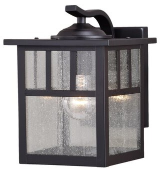 Loon Peakâ® Joelle Outdoor Wall Lantern Loon PeakA
