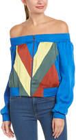 BCBGMAXAZRIA Off-The-Shoulder Jacket
