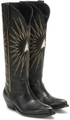 Golden Goose Wish Star leather knee-high boots