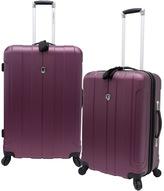 Traveler's Choice Travelerâ€TMs Choice Cambridge 2-Piece Hardside Spinner Luggage Set