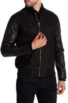 Billy Reid Finn Genuine Leather Bomber jacket