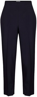 Salvatore Ferragamo High-rise tapered wool pants
