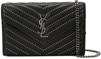 Saint Laurent medium Kate tassel chain wallet