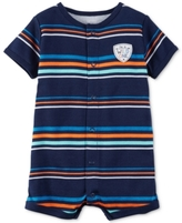 Carter's Striped Wild One Romper, Baby Boys (0-24 months)
