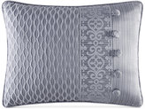 "J Queen New York Harrison Chrome 20"" x 15"" Boudoir Decorative Pillow"