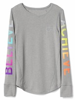 Gap GapFit kids graphic long sleeve tee
