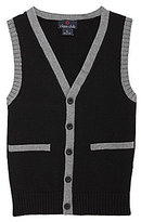 Class Club 8-20 V-Neck Cardigan Vest