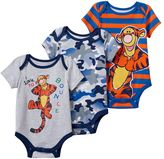 Disney Disney's' Winnie the Pooh Tigger 3-pk. Baby Boy Bodysuits