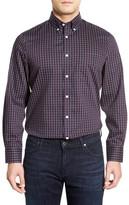 Nordstrom Smartcare Regular Fit Twill Sport Shirt (Big)