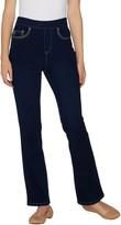Belle By Kim Gravel Belle by Kim Gravel Flexibelle Pet Stitched 5-Pkt Boot Cut Jeans