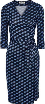 Diane von Furstenberg New Julian Floral-print Silk-jersey Wrap Dress