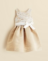 Us Angels Girls' Lace Overlay Dress - Sizes 2T-4T
