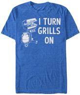 Fifth Sun Royal Heather 'I Turn Grills On' Tee