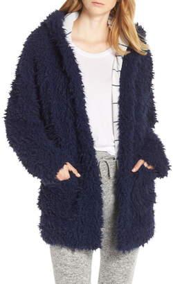 Splendid Teddy Sleep Hooded Pajama Jacket
