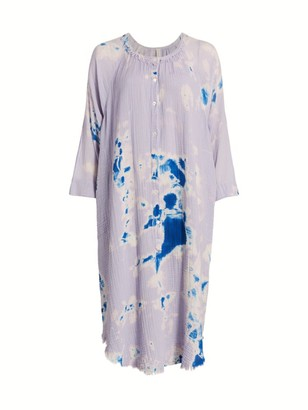Raquel Allegra Poet Tie-Dye Shift Dress