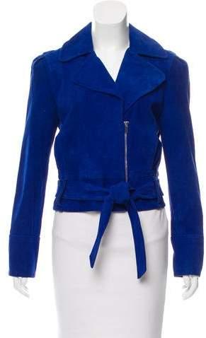 Diane von Furstenberg Suede Kazara Jacket