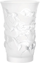 Lalique Mustang Vase - Clear