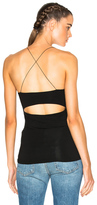 Alexander Wang Strappy Cami Top in Black.