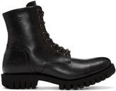 Diesel Black D-Depp Boots