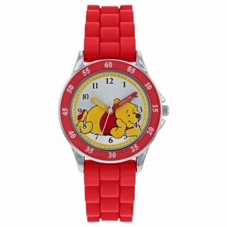 Winnie The Pooh Unisex Child Analogue Classic Quartz Watch with Rubber Strap WP3000