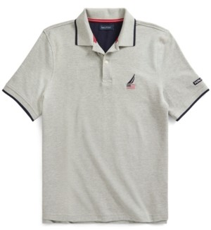 Nautica Men's Logo Polo