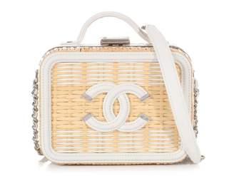 Chanel Vanity Multicolour Wicker Handbags