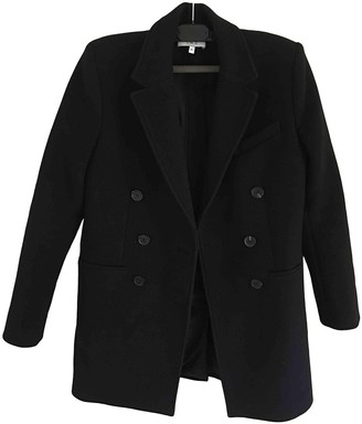 IRO Black Wool Coat for Women
