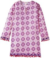 Masala Medallion Mommy Tunic - Purple-X-Large