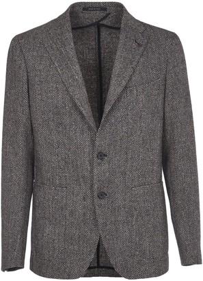 Tagliatore Herringbone Wool Jacket