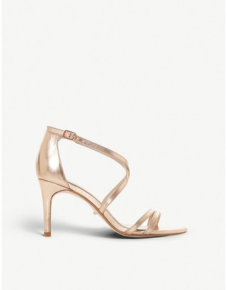 Dune Mariela faux-leather heeled sandals