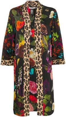 Alice + Olivia Avila reversible kimono