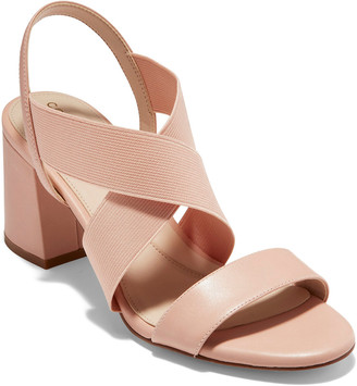Cole Haan Anstn 65 Elastic & Leather Sandal