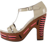 Marni Patent Leather Platform Sandals w/ Tags