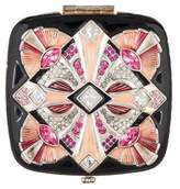 Jay Strongwater Embellished Compact Mirror
