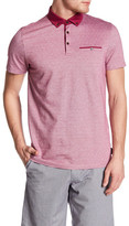 Ted Baker Jacquard Oxford Polo