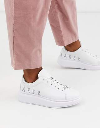 Ted Baker Ailbaa chunky sole trainers-White