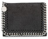 Stella McCartney Women's 'Falabella' Shaggy Deer Wallet - Black