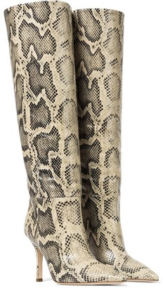 Paris Texas Mama leather knee-high boots