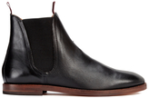 H Shoes by Hudson Men's Tamper Leather Chelsea Boots Black