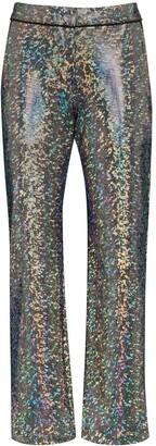 Kirin Mosaic-Print Suit Trousers