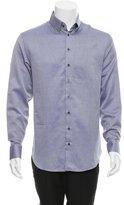 Giorgio Armani Printed Button-Up Shirt w/ Tags