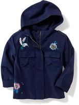 Old Navy Embroidered Utility Jacket for Girls
