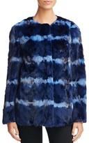 Maximilian Furs Tie Dye Mink Fur Coat