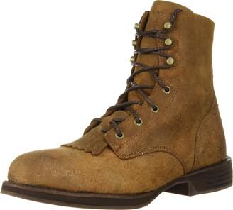 """Rocky Western Boot Mens Renegade 8"""" Waterproof 10.5 W Distressed Brown RKW0224"""