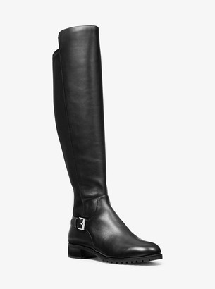 MICHAEL Michael Kors Branson Stretch Leather Boot