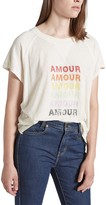 Current/Elliott Amour Raglan T-Shirt
