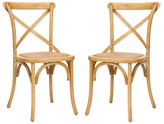 Safavieh X-Back Chair (Set of 2)