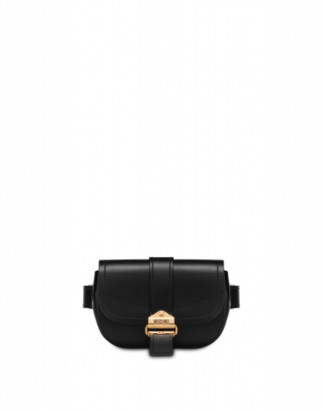 Moschino Belt Waist Bag Woman Black Size U It - (one Size Us)