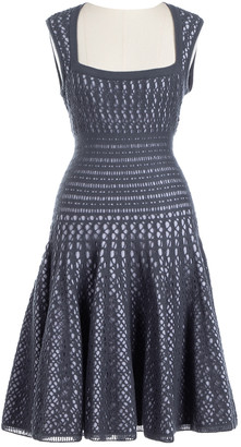 Alaia Grey Wool Dresses