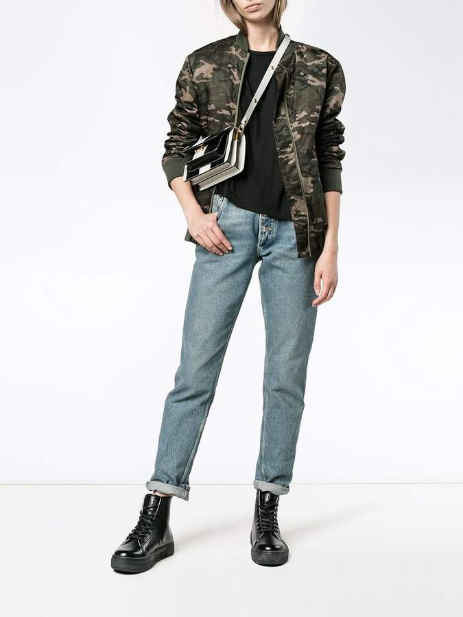 Lot 78 Lot78 Black Cashmere Blend Side Split T Shirt